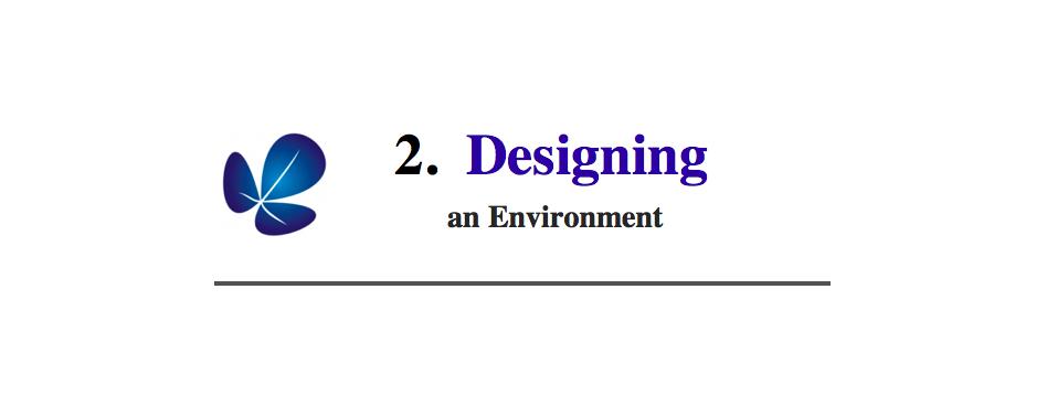 2. Designing Environment