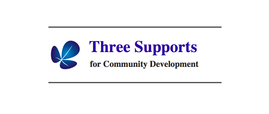 Three Supports for Comm Development